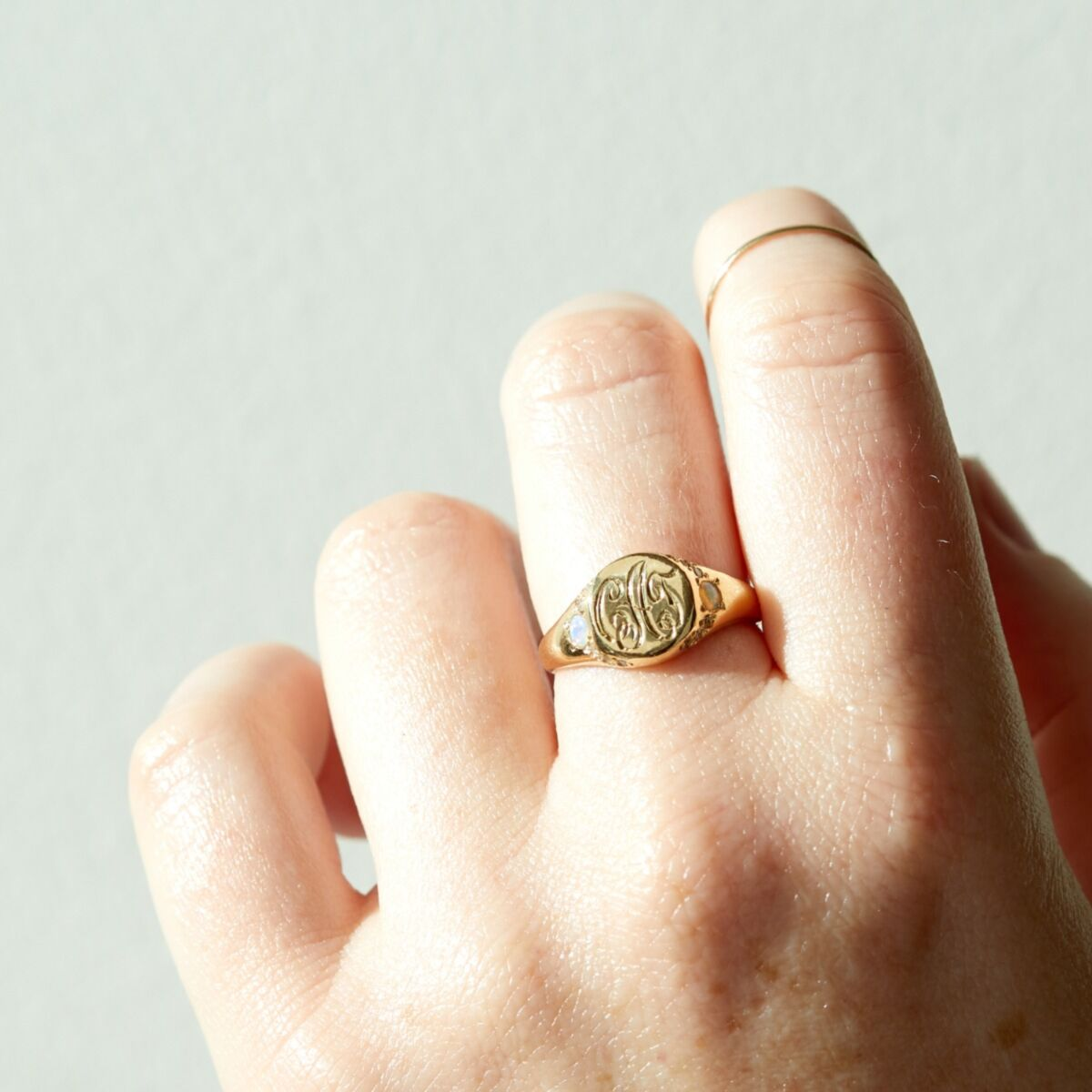 Isabel's Treasure Signet Ring image