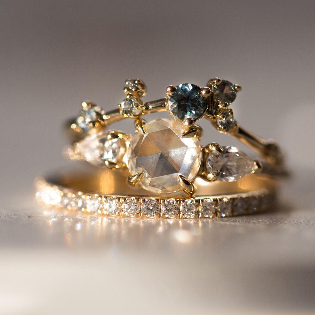 Fairy Light Supreme Eternity Band, White Diamonds image