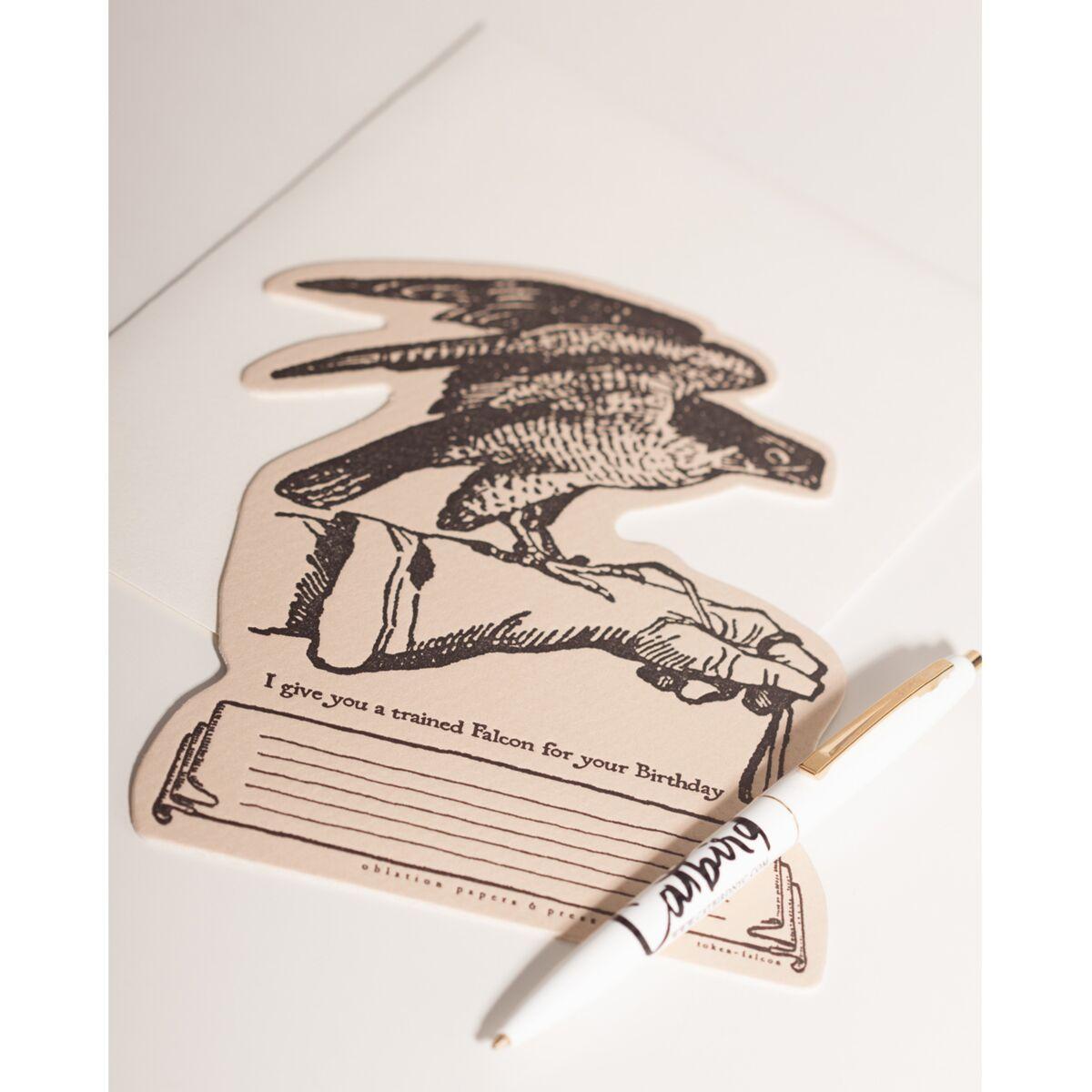 I Give You A Trained Falcon Card image