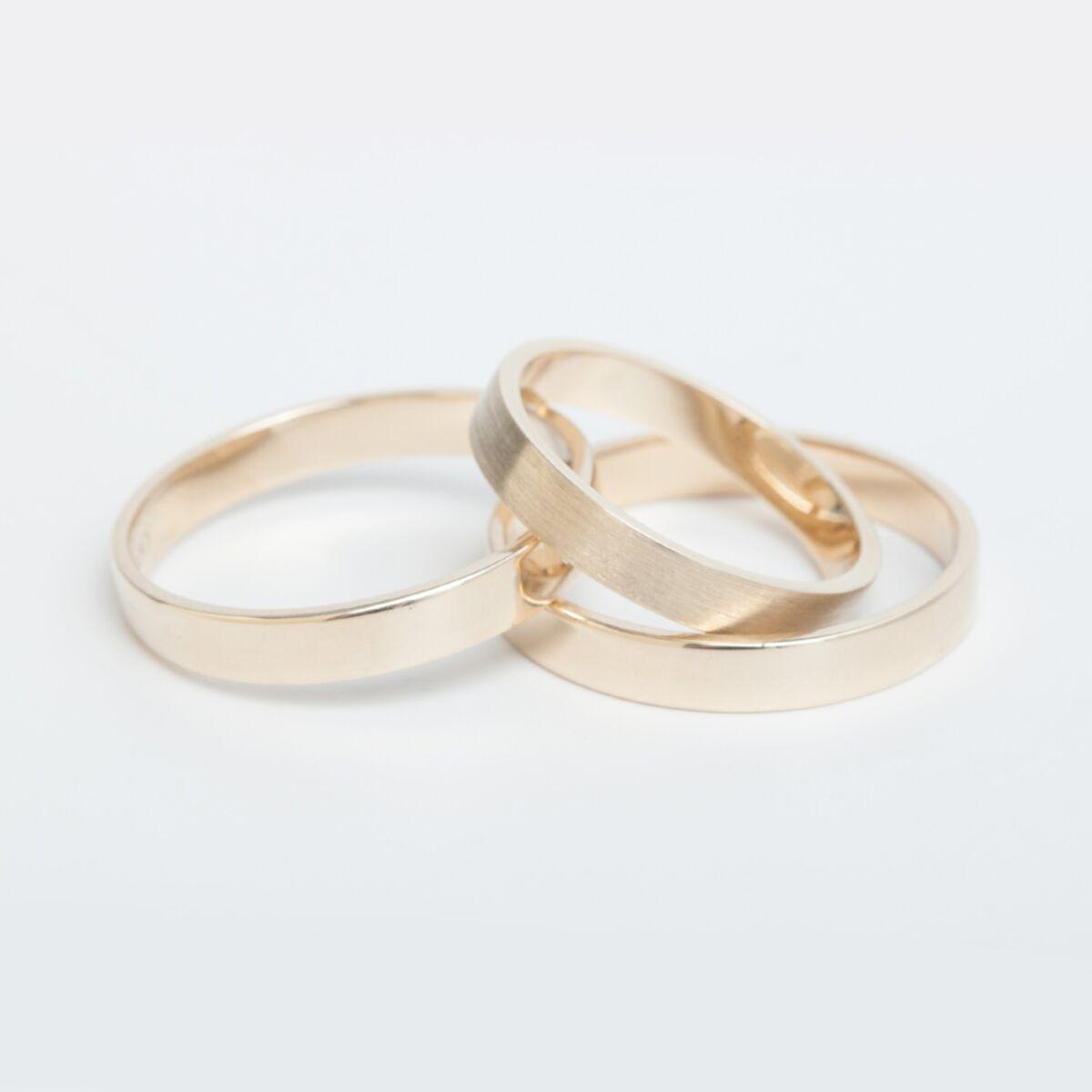 Catbird Classic Wedding Bands, Flat Band, 3mm image