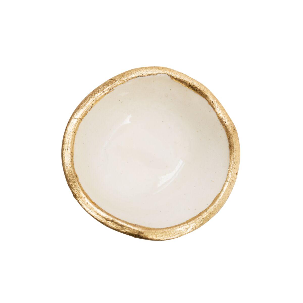 Extra Tiny Gold Lip Dish image