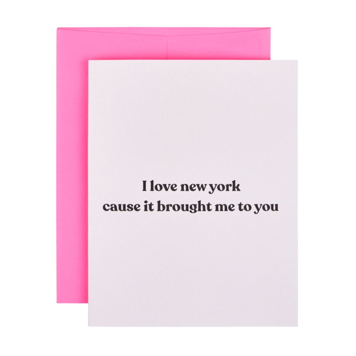 New York Brought Me to You Card image
