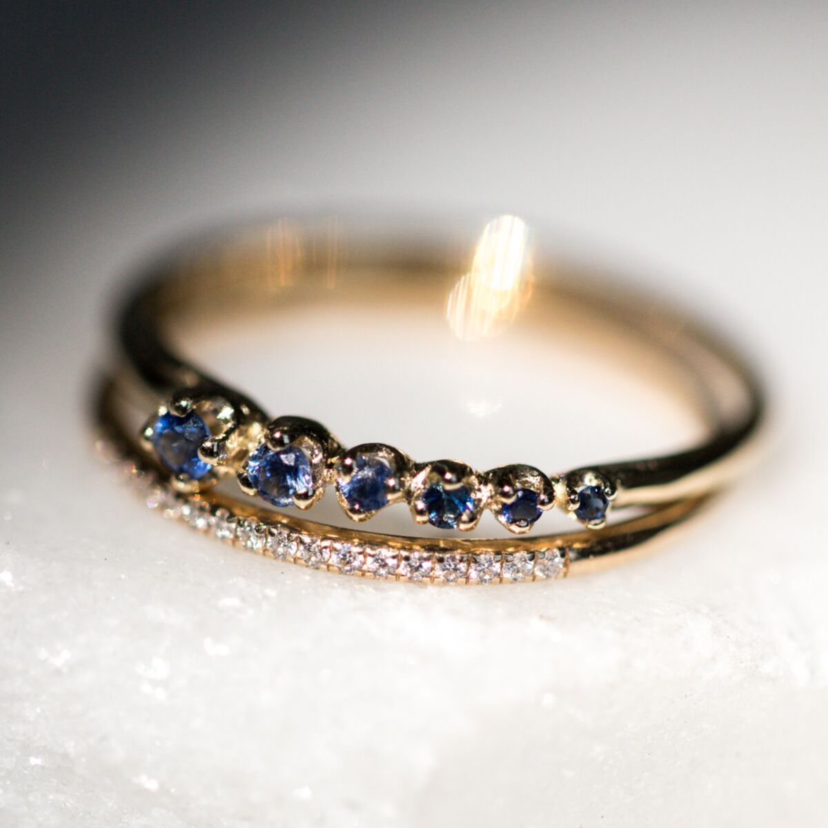 Shooting Star Ring, Sapphire image