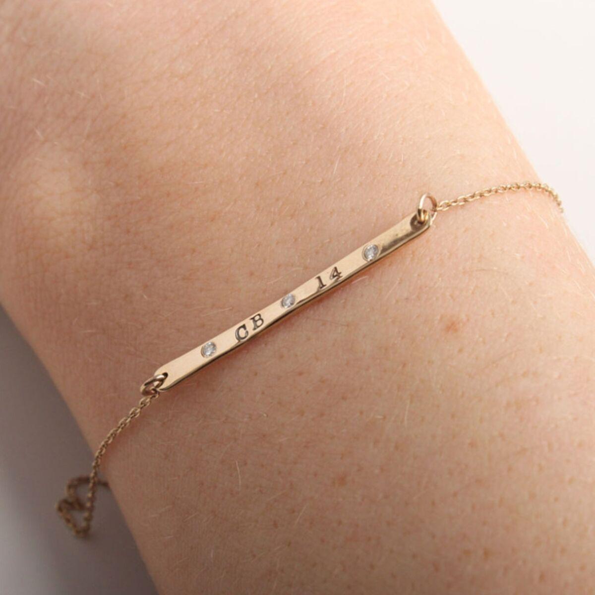 L'il ID Bracelet, gold image