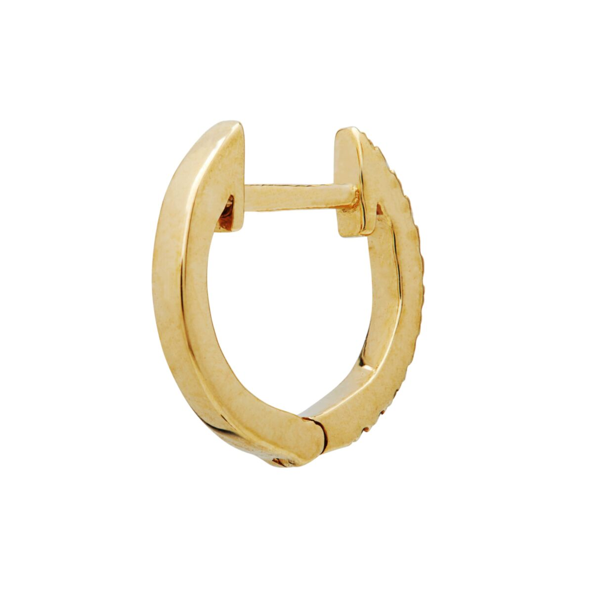 Pavé Mini Hoop (Single) image