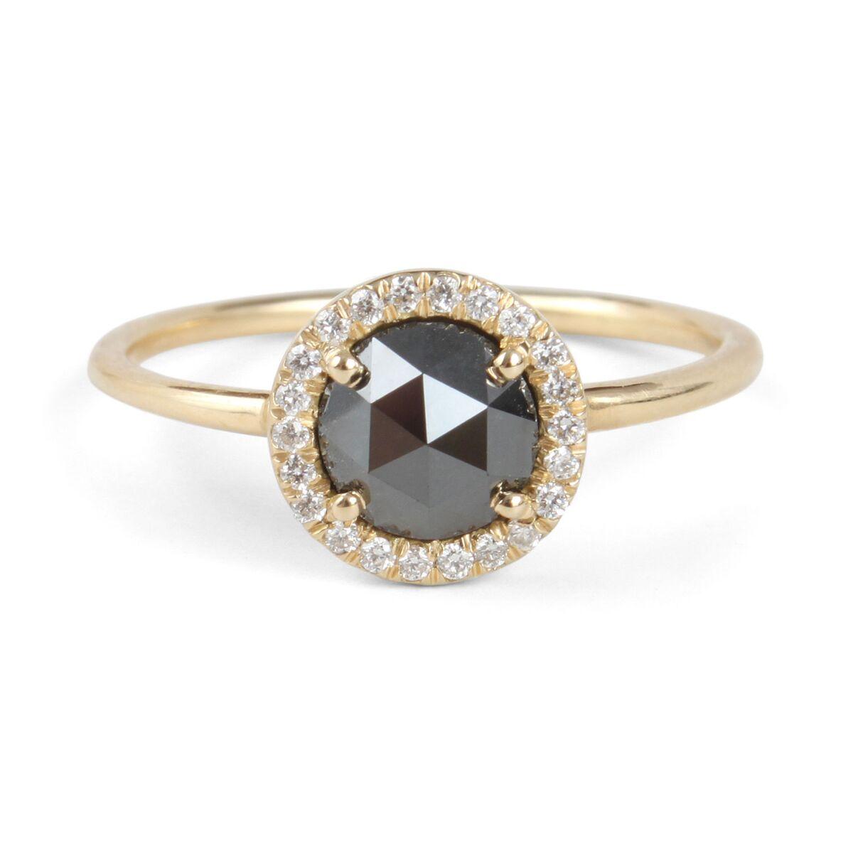 Black Diamond Aura Ring image