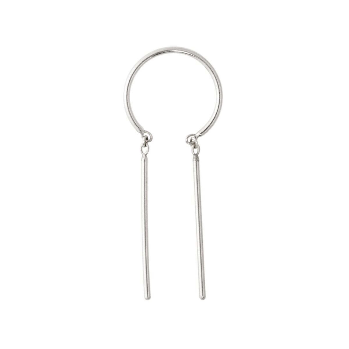 Chime Earring, Silver (SINGLE) image