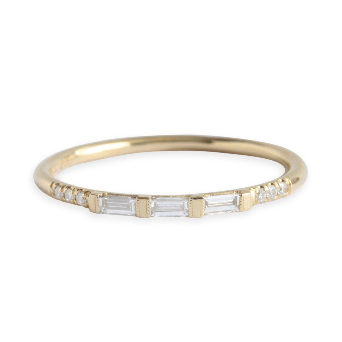 Baguette Equilibrium Ring image