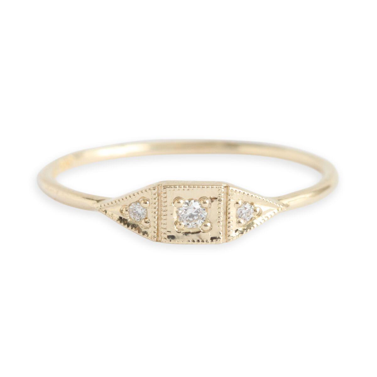 Baby Deco Ring