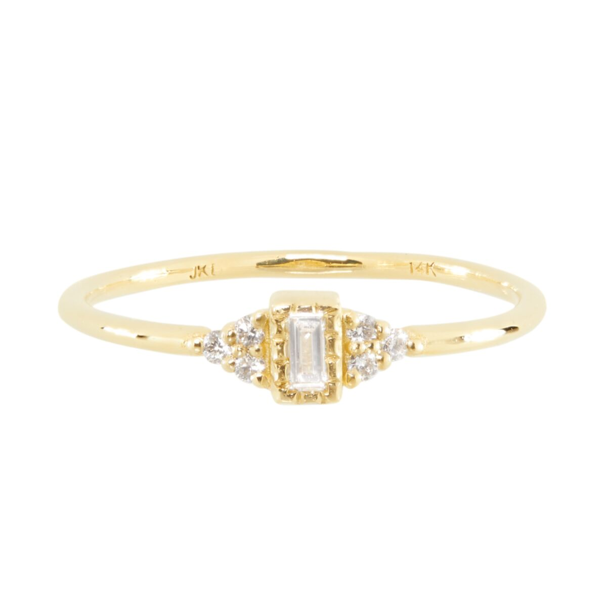 Baguette Whisper Ring image