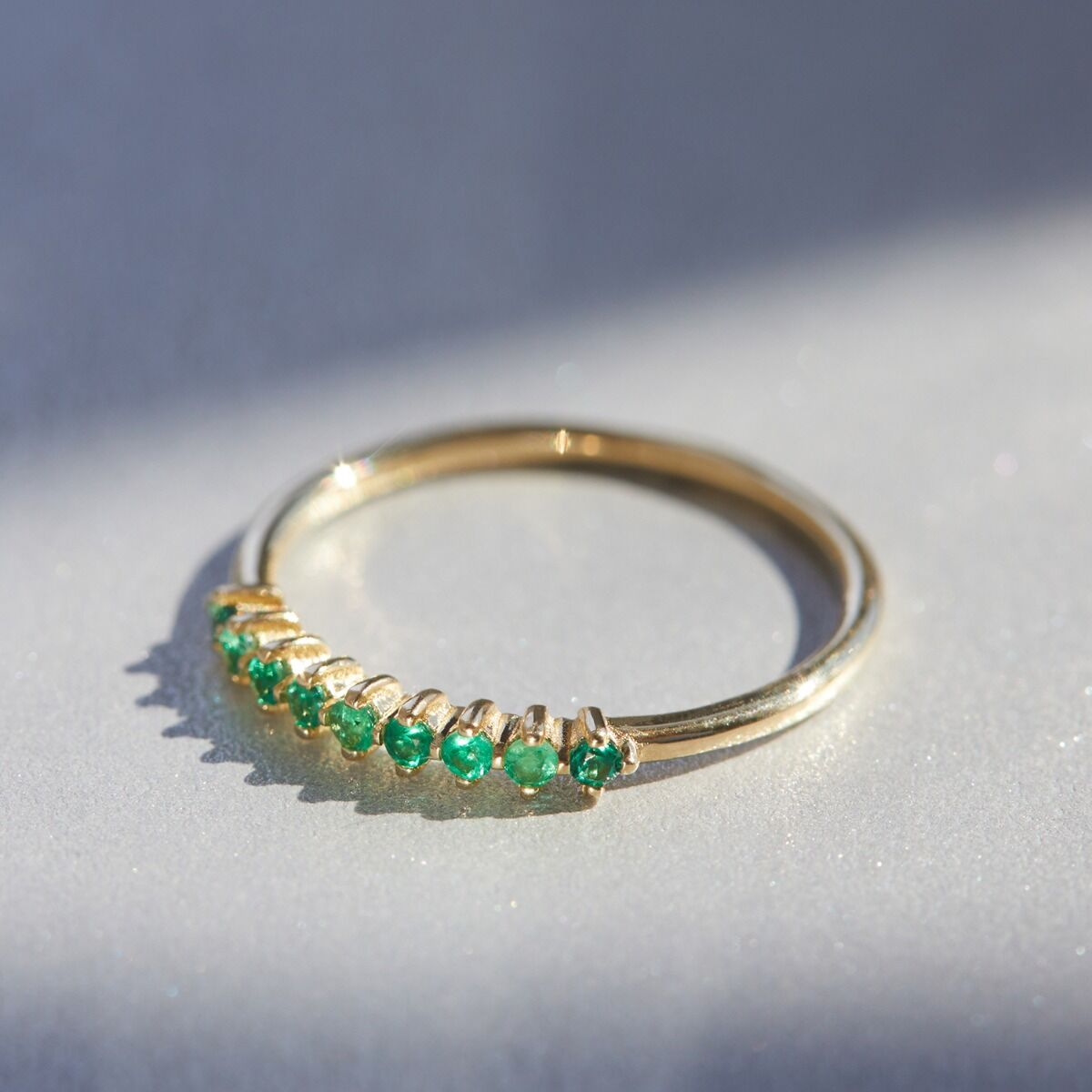 Emerald Lace Ring image