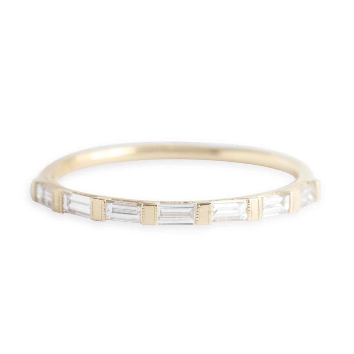 Baguette Half Eternity Ring image