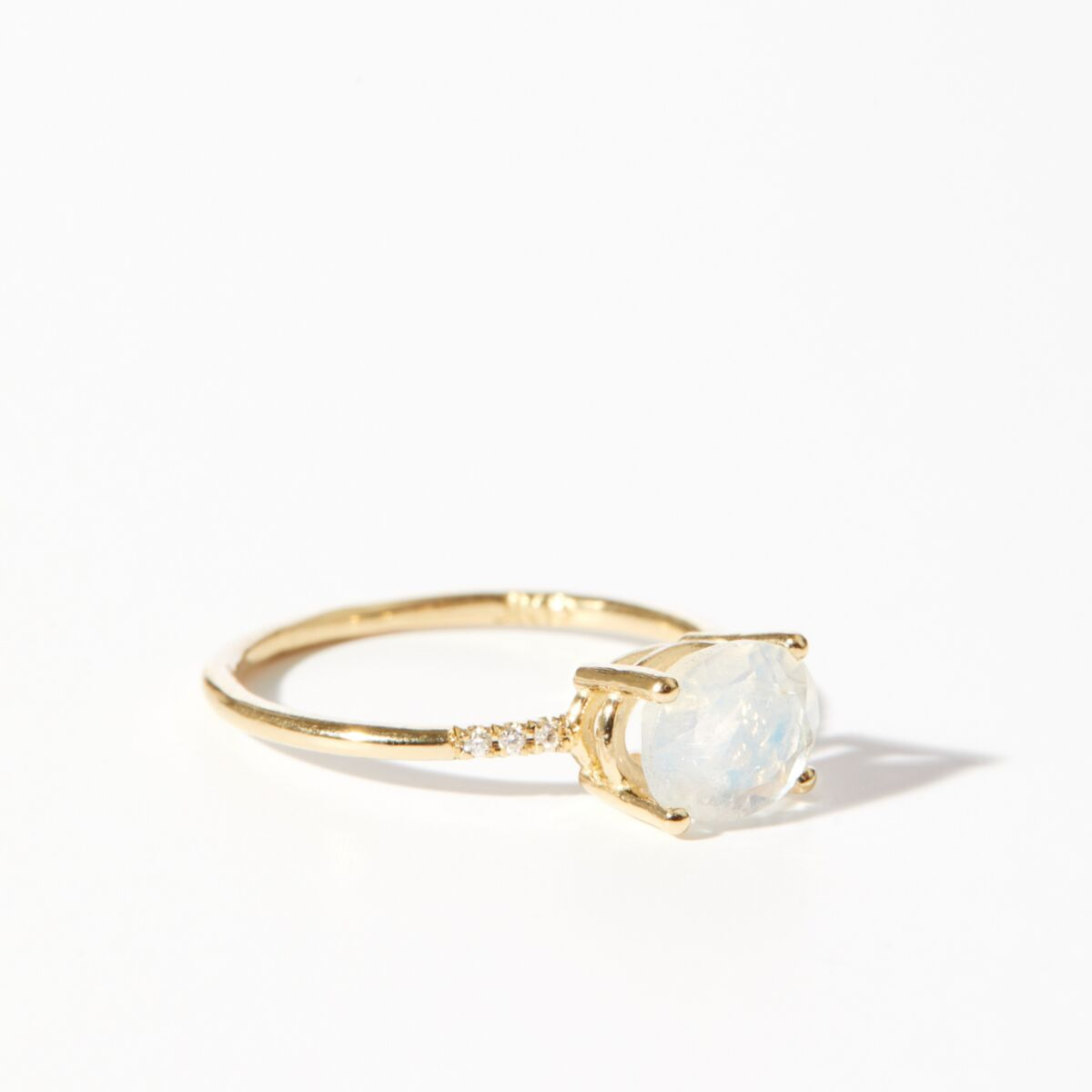 Moonstone Equilibrium Ring image