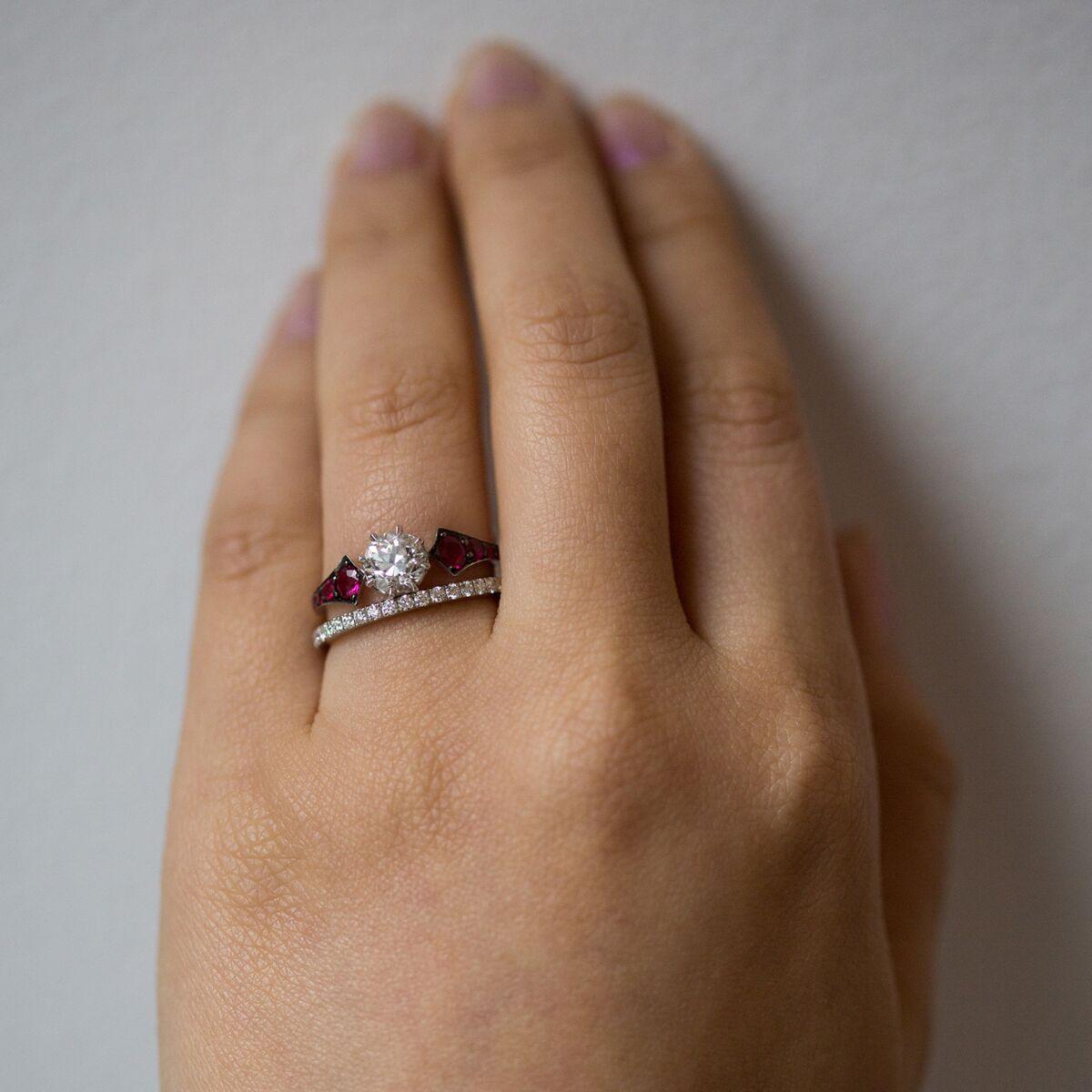 Ruby Wings Ring image