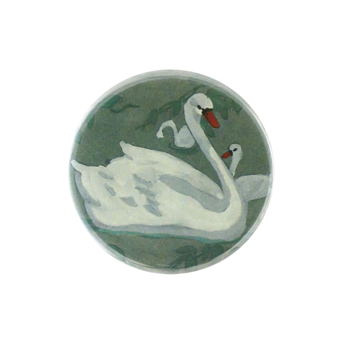 Swan Pocket Mirror
