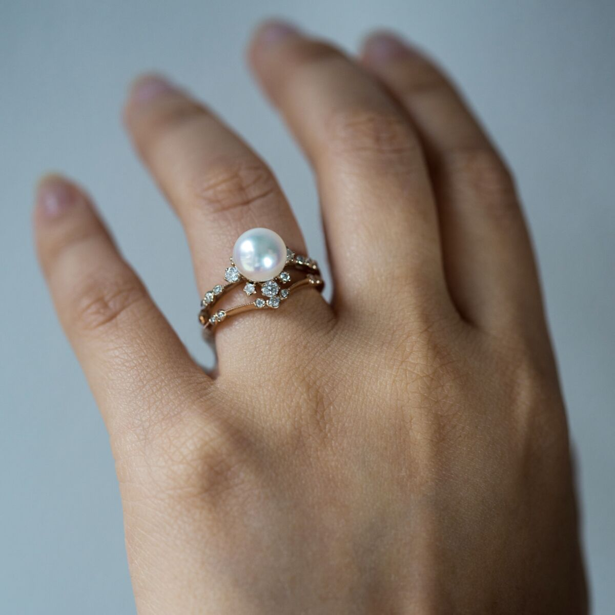 Winter Pearl Ring image