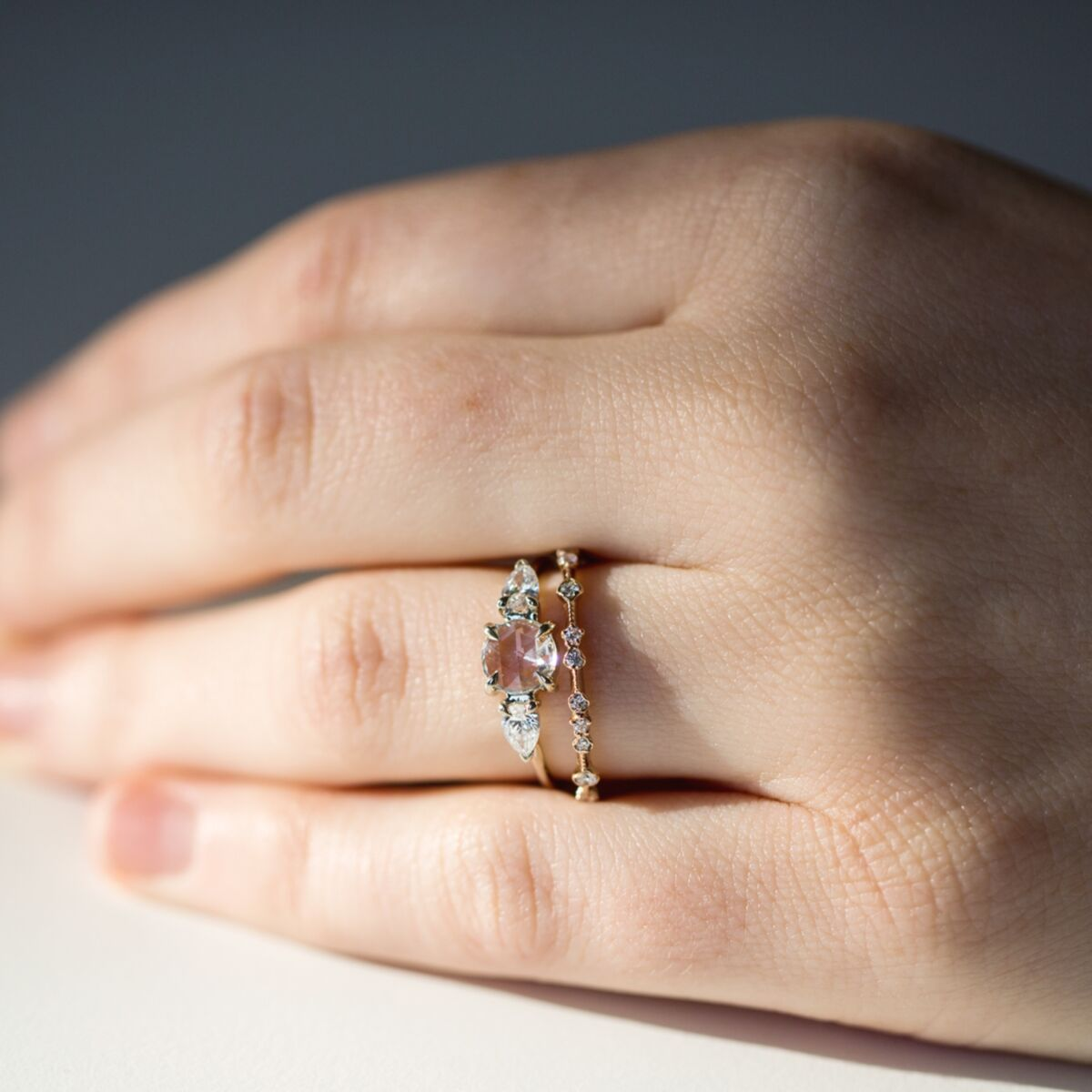 Diamond Dotted Ring image