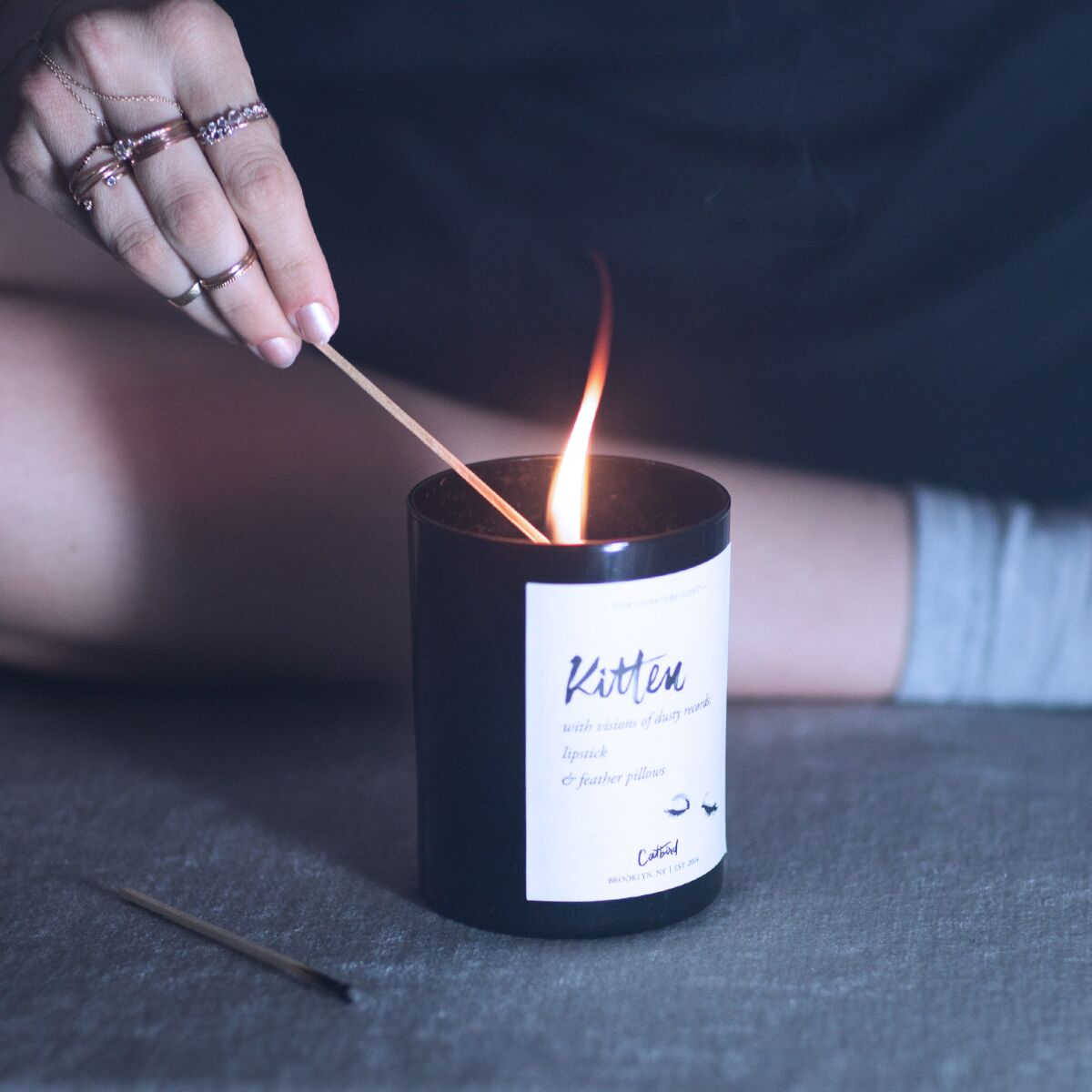 Kitten Candle image
