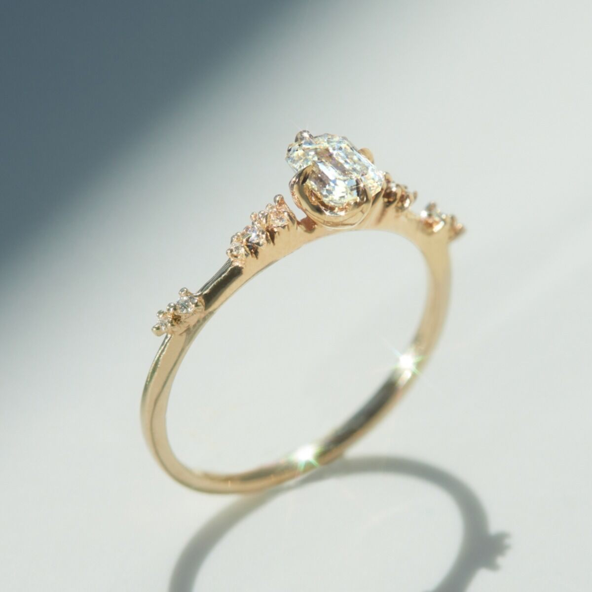 Daphne Solitaire Ring image