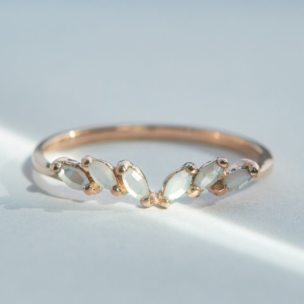 Jasmine Ring, Mother of Pearl image