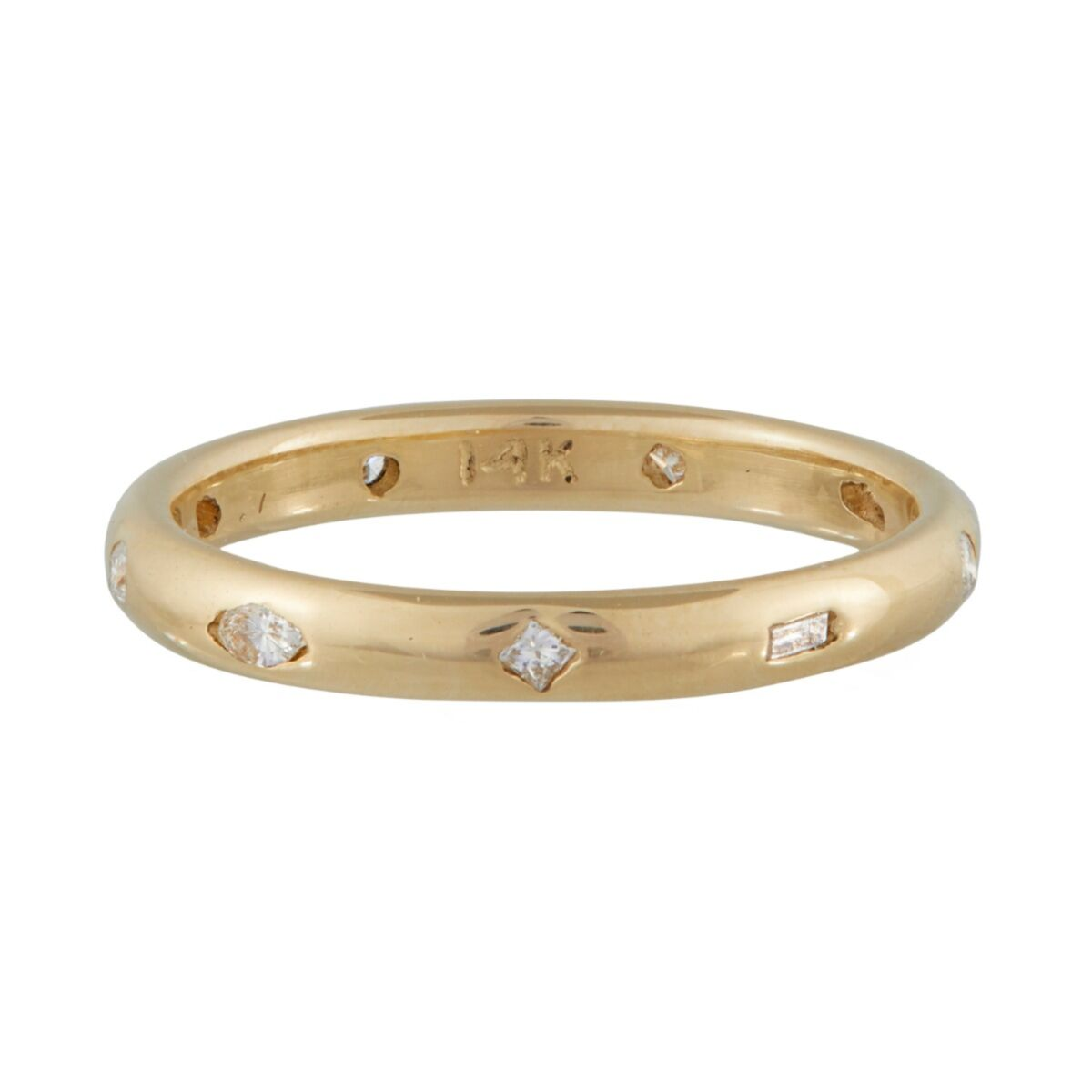 The Lovers Diamond Eternity Band image