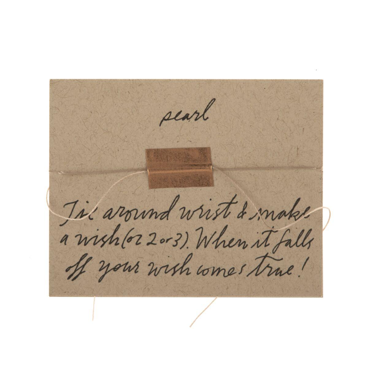 Pearl Wishing Bracelet image