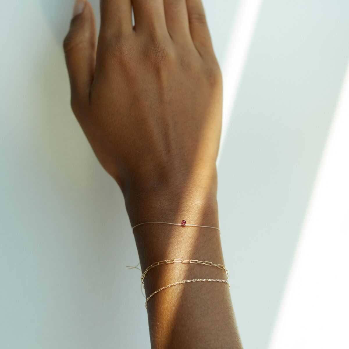 Ruby Wishing Bracelet image