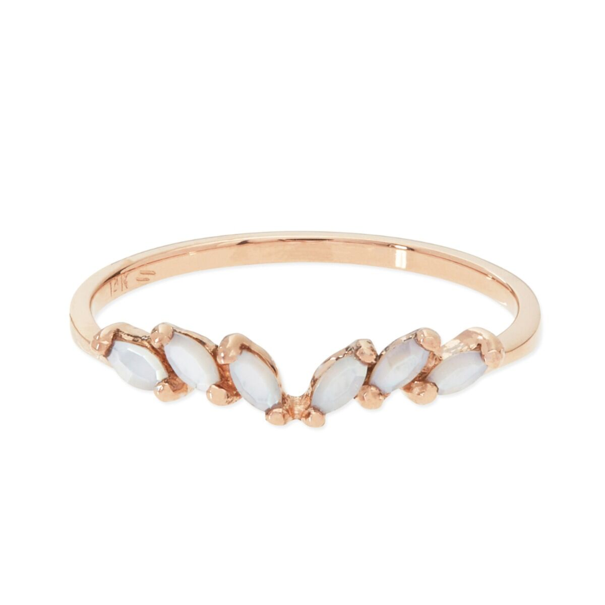 Jasmine charm ring