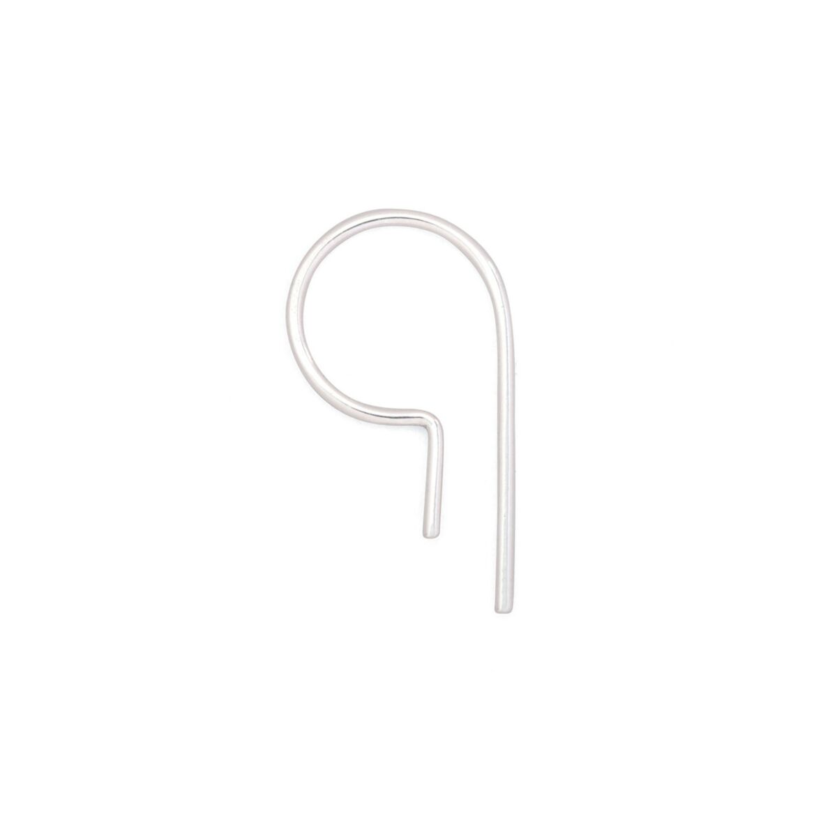 Loopdie Earring Silver (SINGLE)