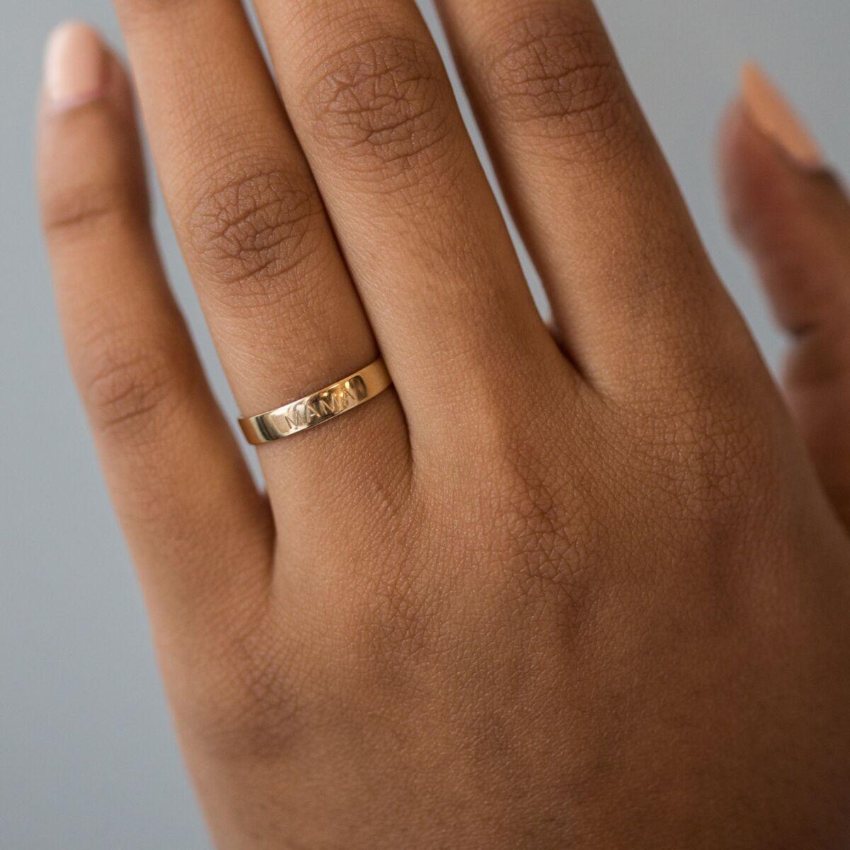 Tomboy Ring, Yellow Gold image
