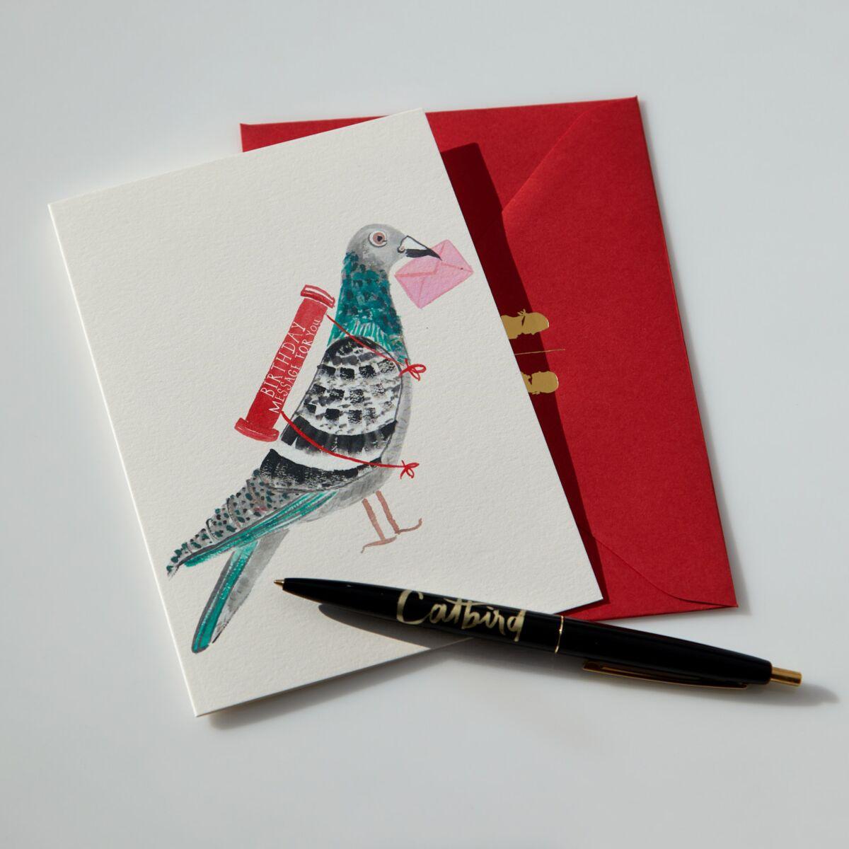 New York Pigeon Card image
