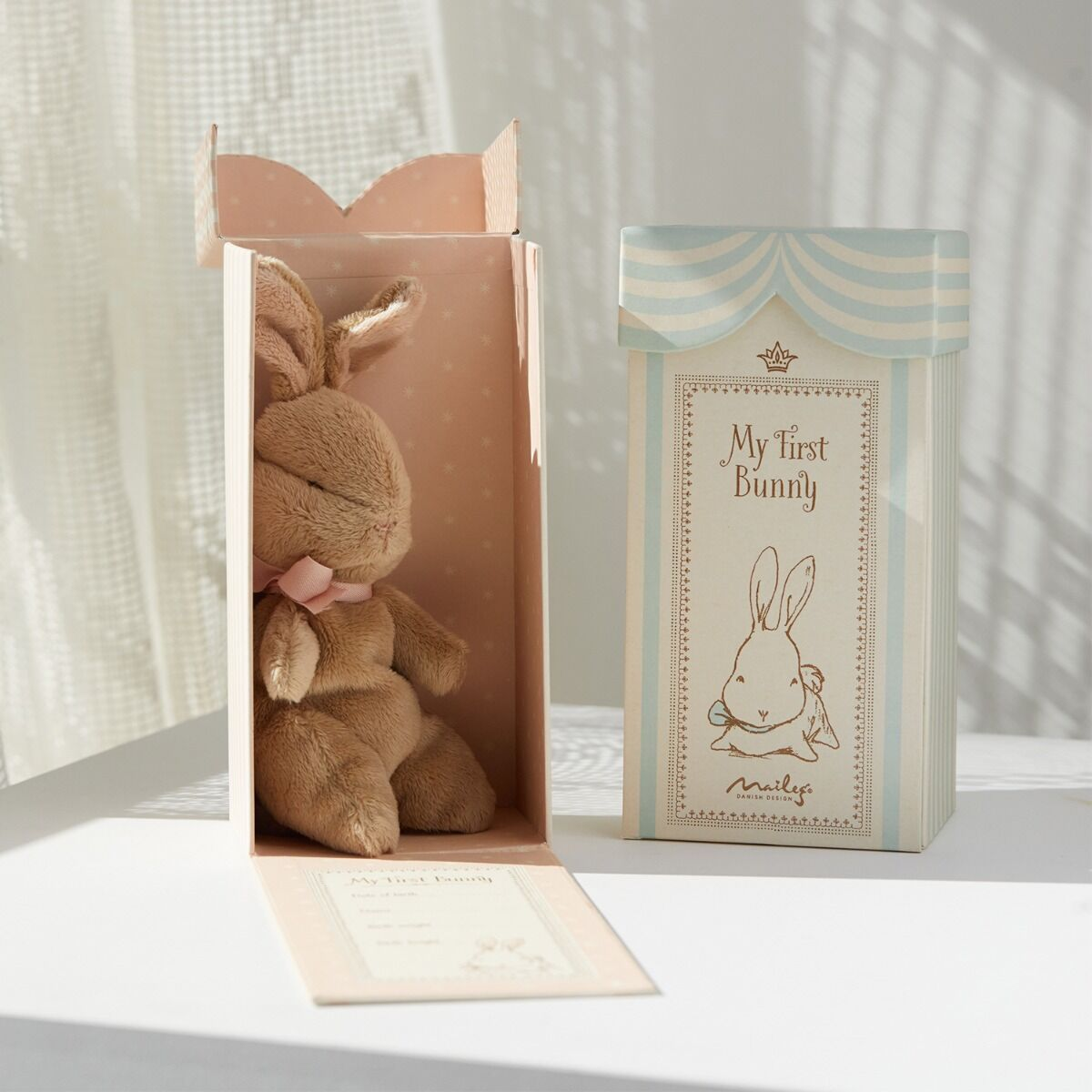 Baby's First Bunny, Pale Pink image