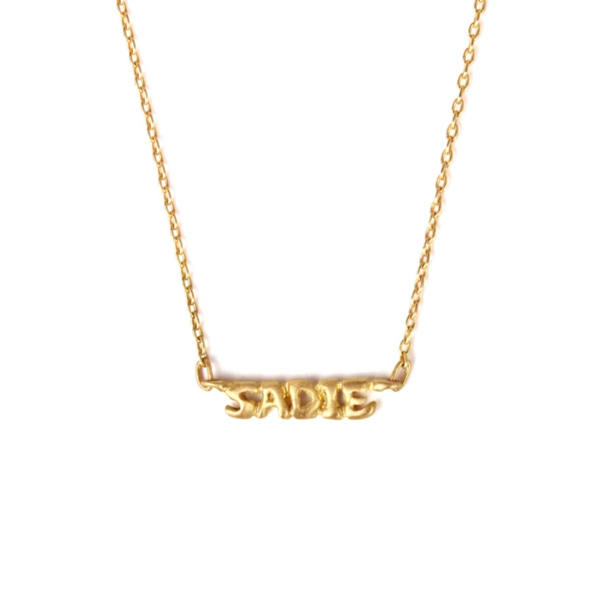 Gold Name Necklace image
