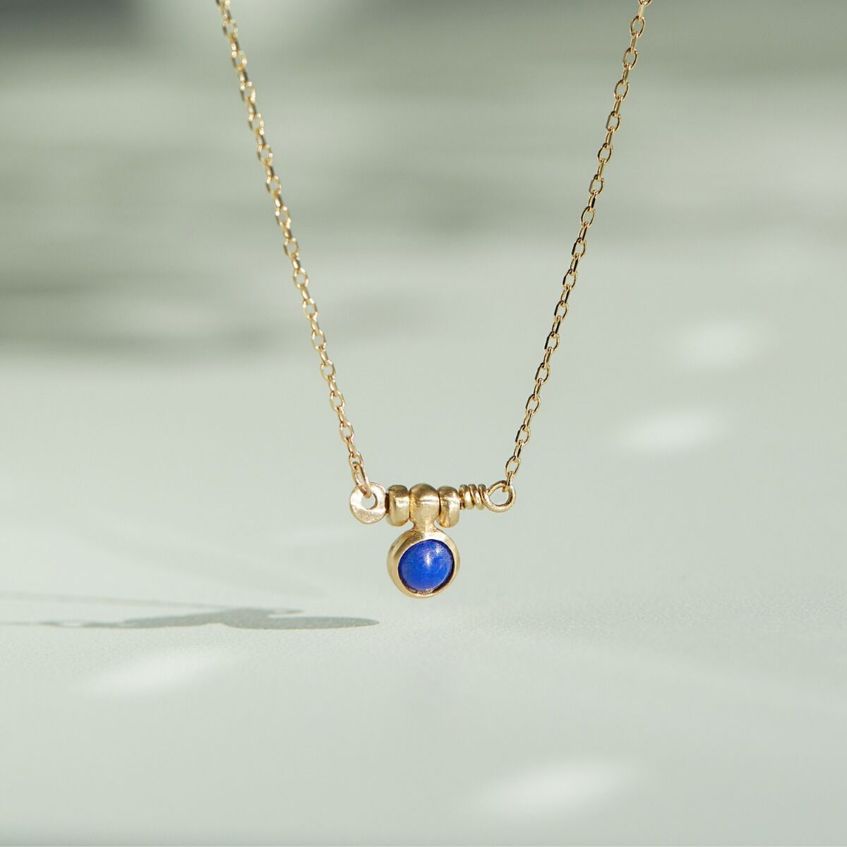 Lapis Bar Necklace image