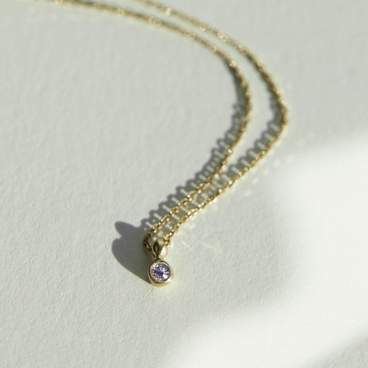 Lavender Spark Necklace image