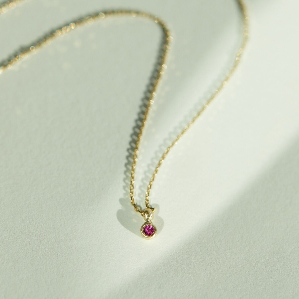 Ruby Spark Necklace image