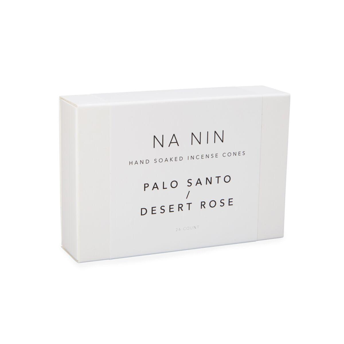 Palo Santo & Desert Rose Incense Cones image