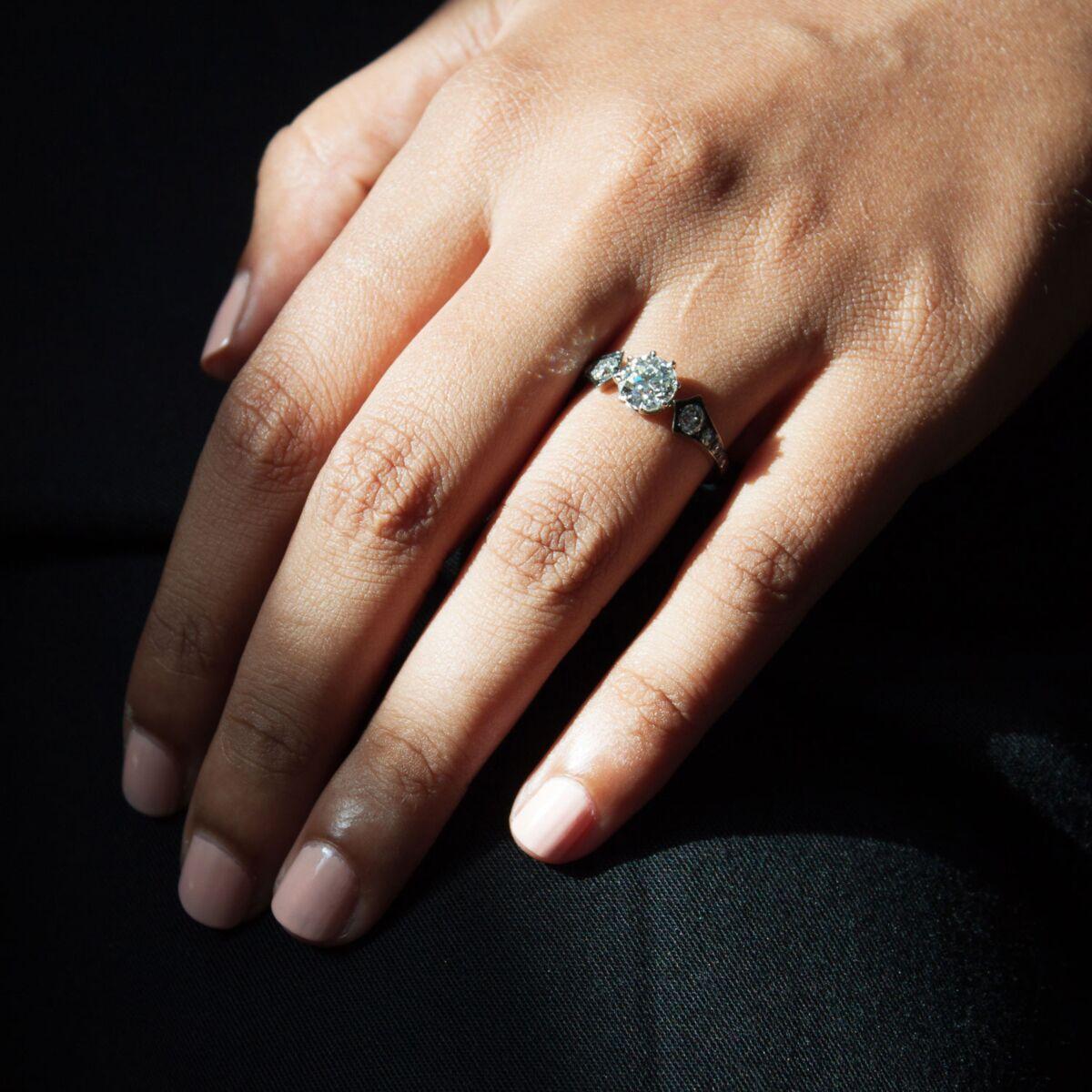 Diamond Wings Ring image