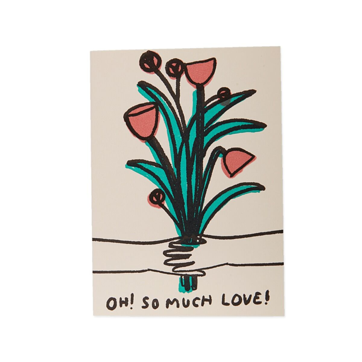 Oh So Much Love Card image
