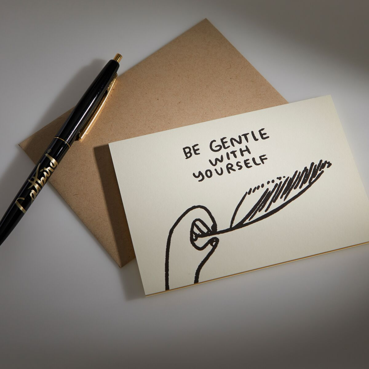 Be Gentle With Yourself Card image