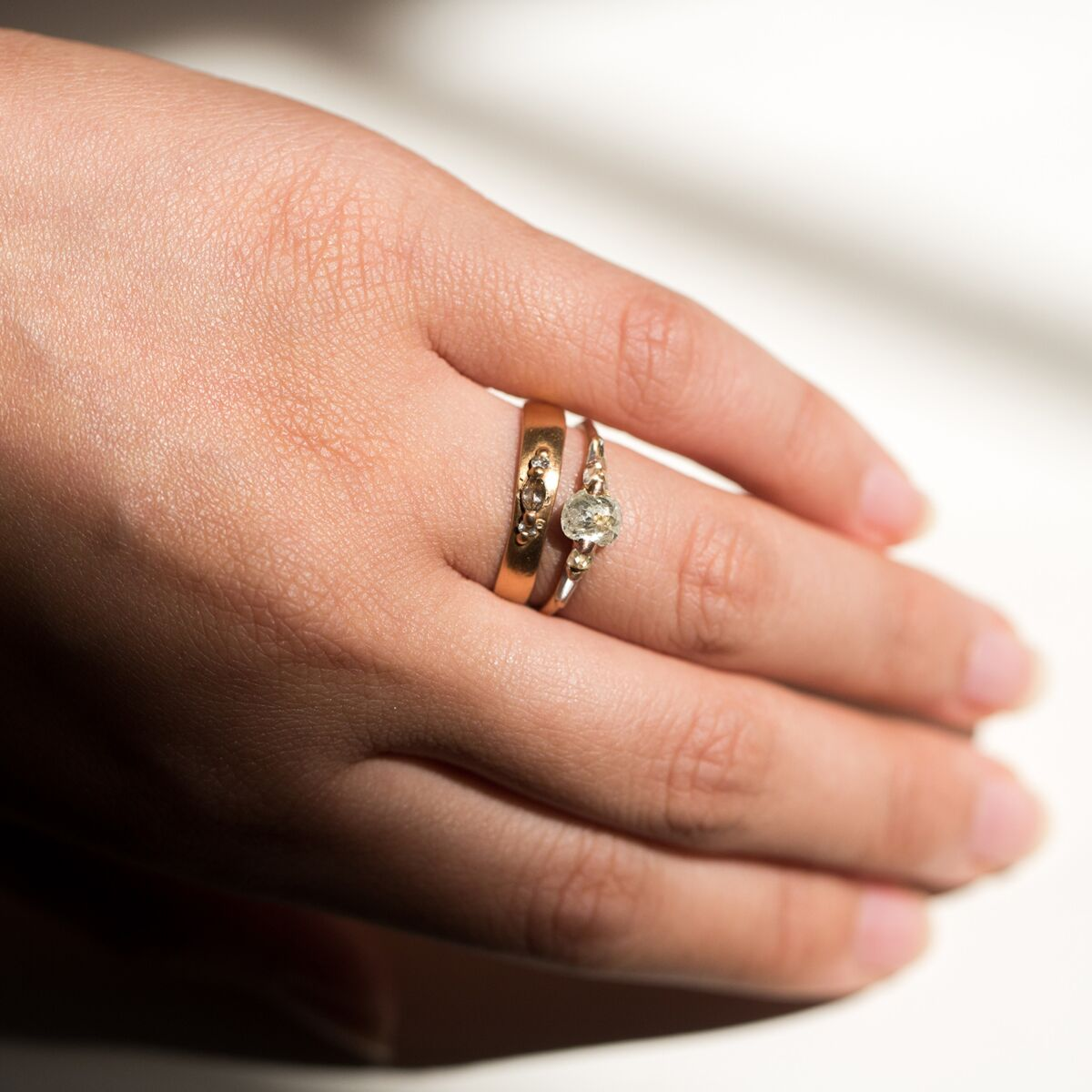 Diamond Pinched Band image