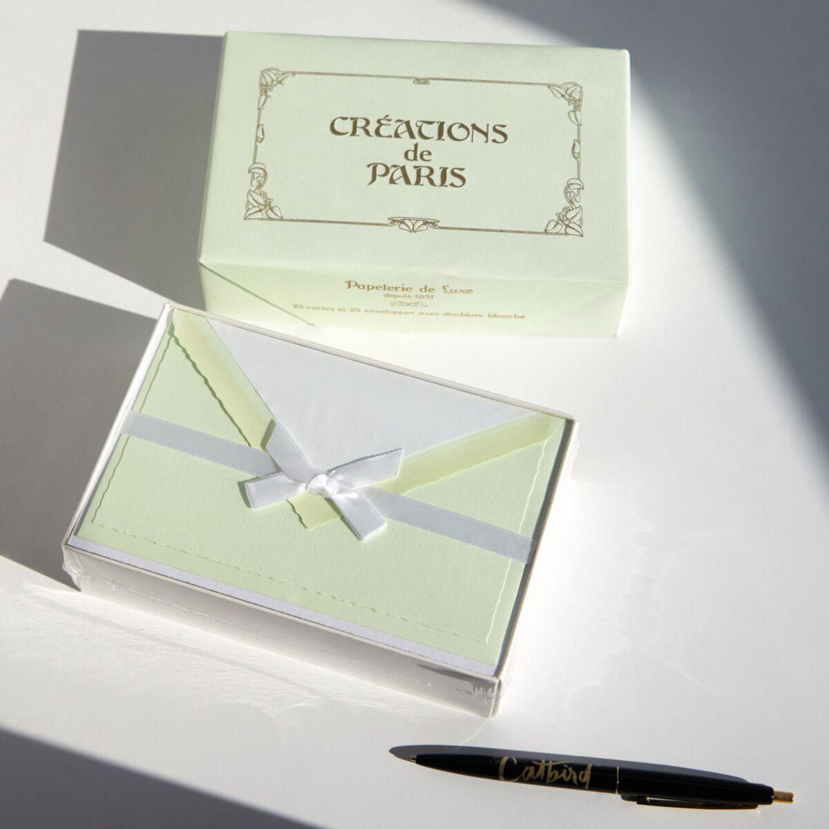 Créations de Paris Stationery,  Pistachio image