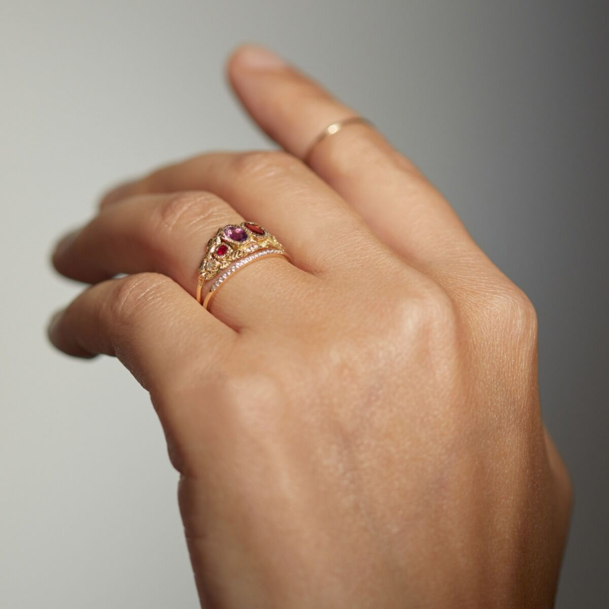 Victorian Regard Ring image