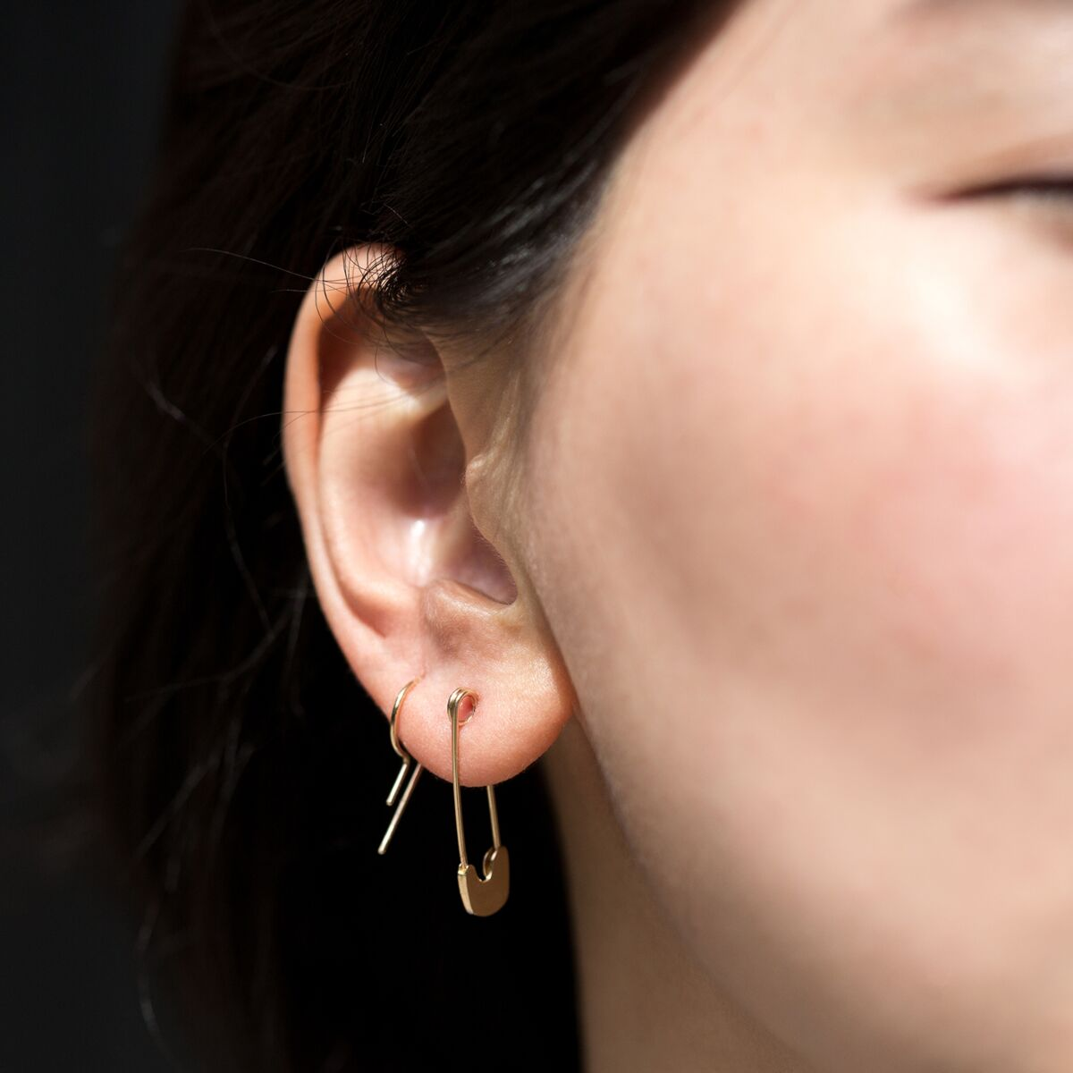 Loopdie Earring Gold (Single) image