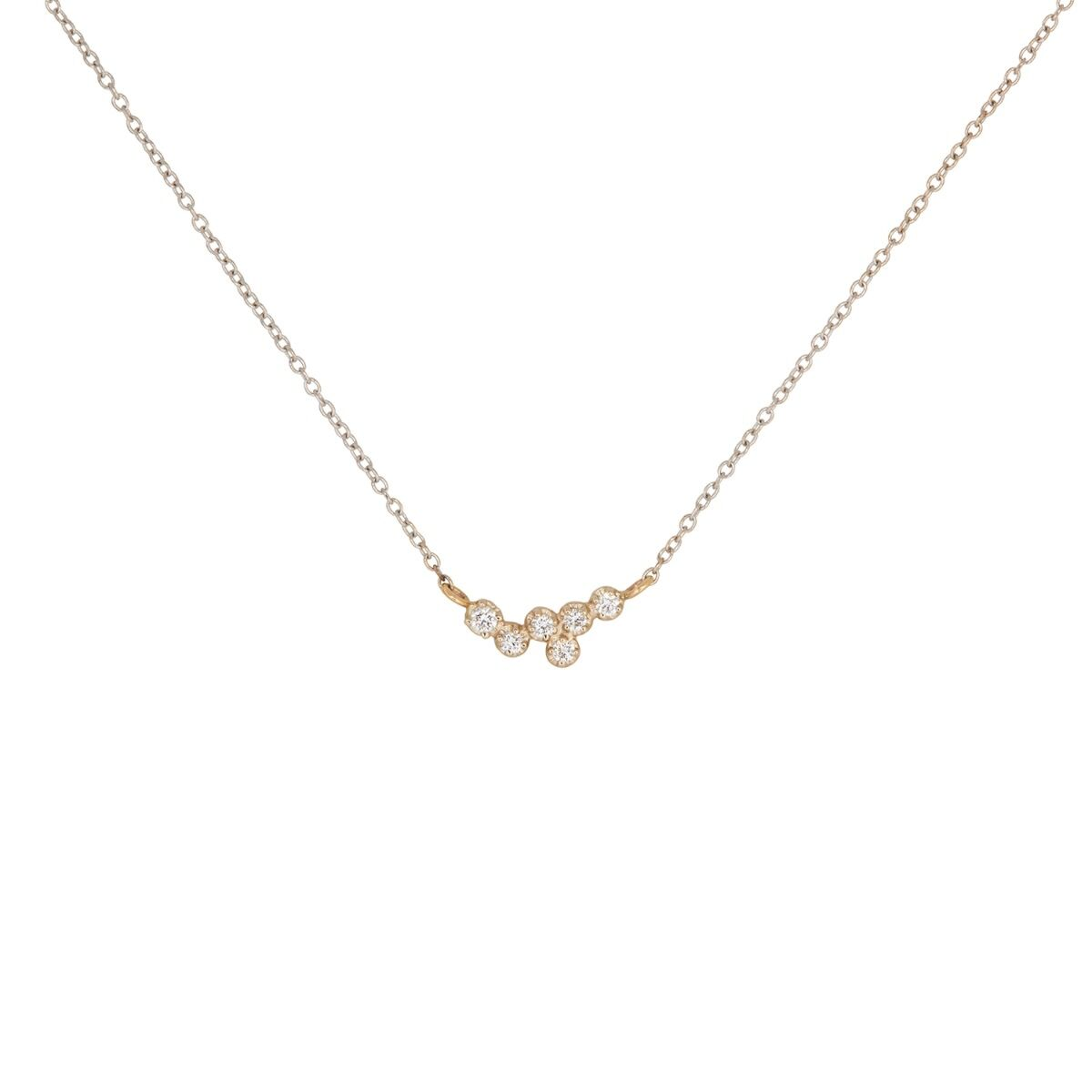 Hydra White Diamond Necklace image