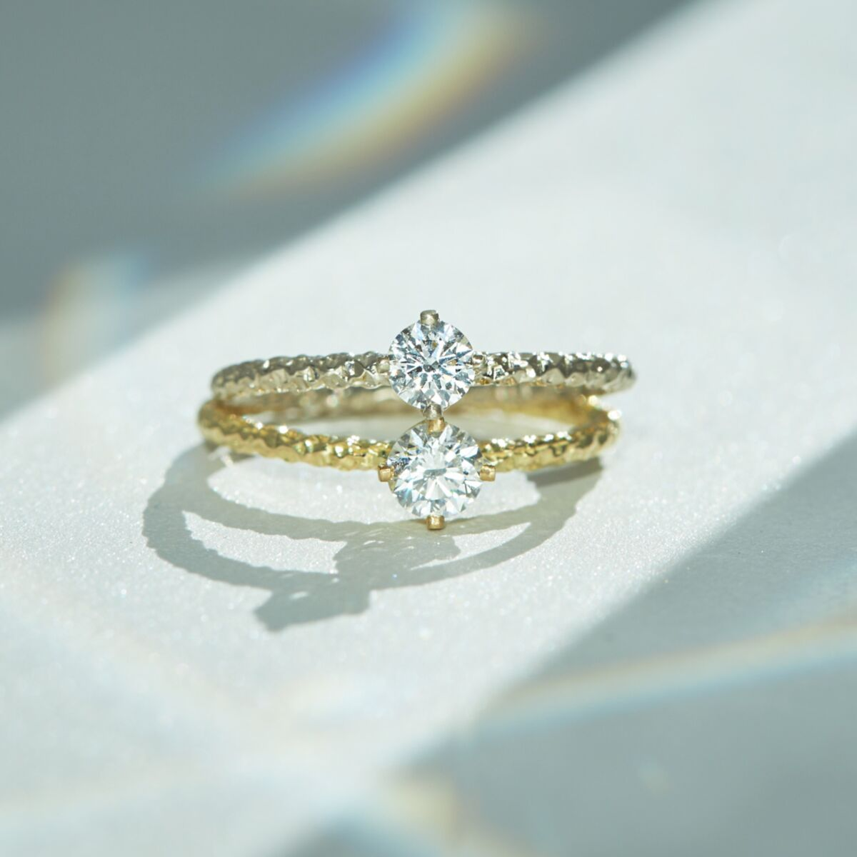 Homespun Solitaire Ring, Diamond image
