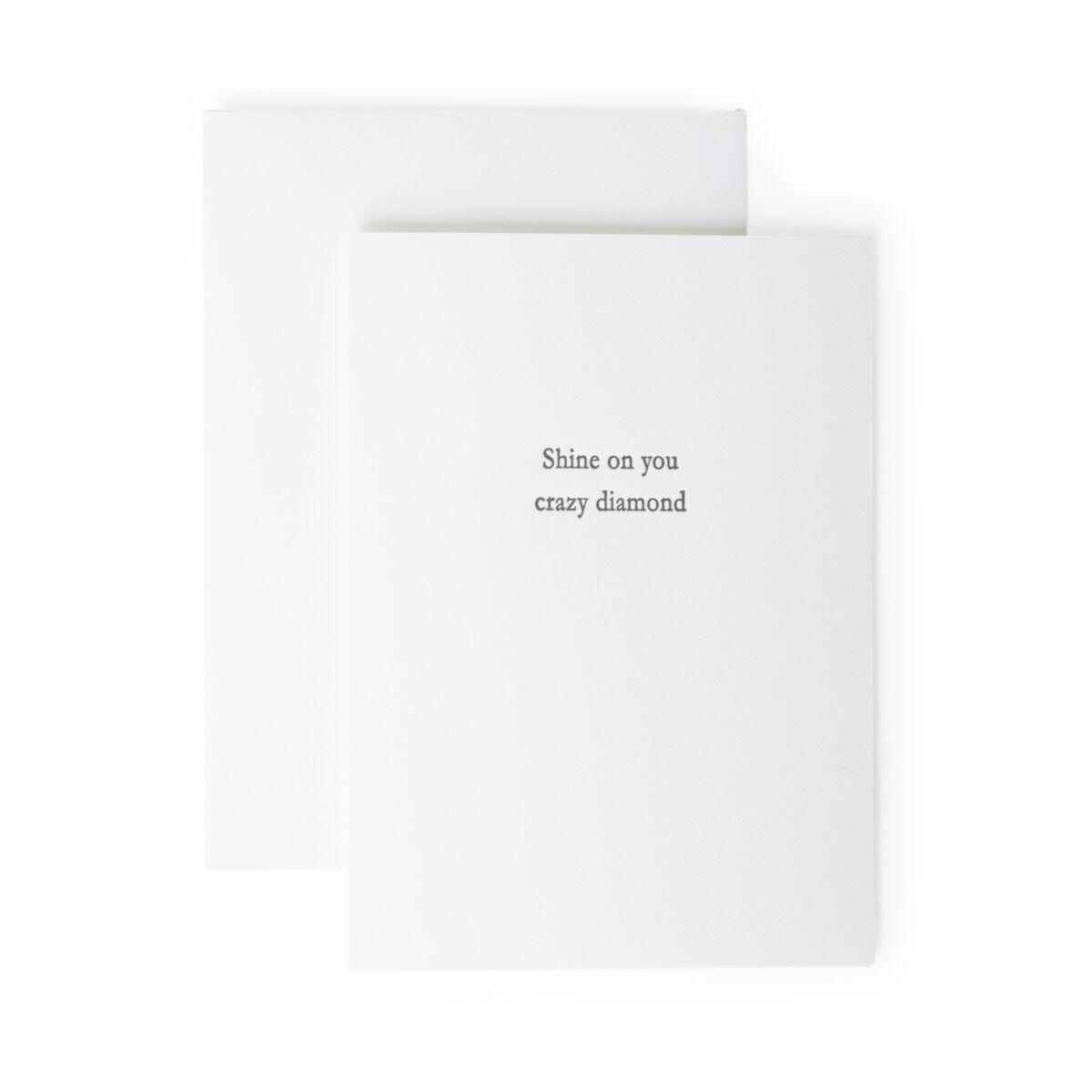Shine On You Crazy Diamond Card