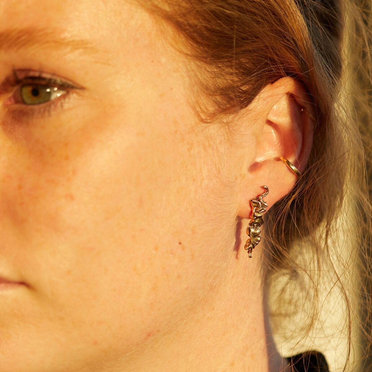 West Medusa Relic Earring (Single) image