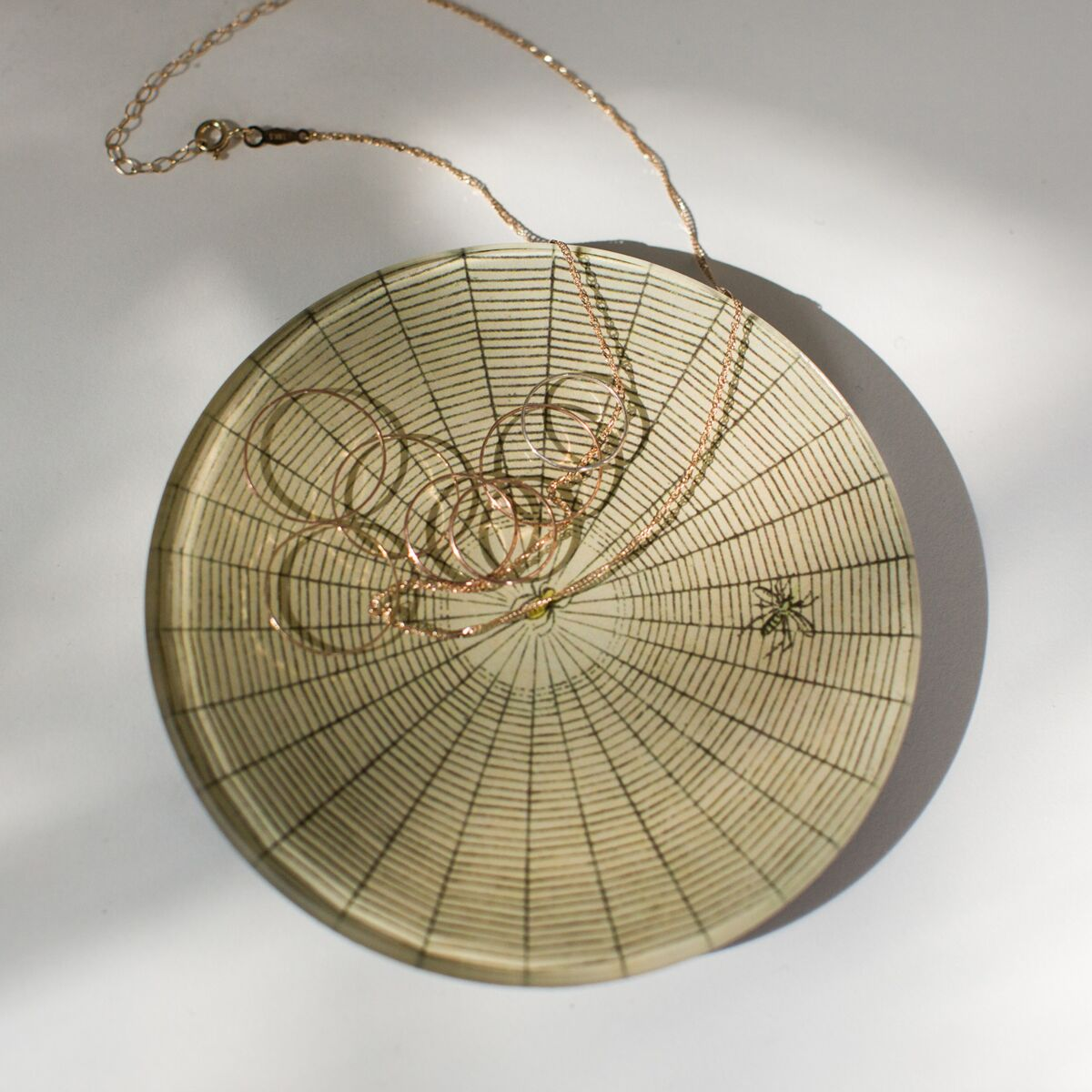 Small Spider Web Dish  image
