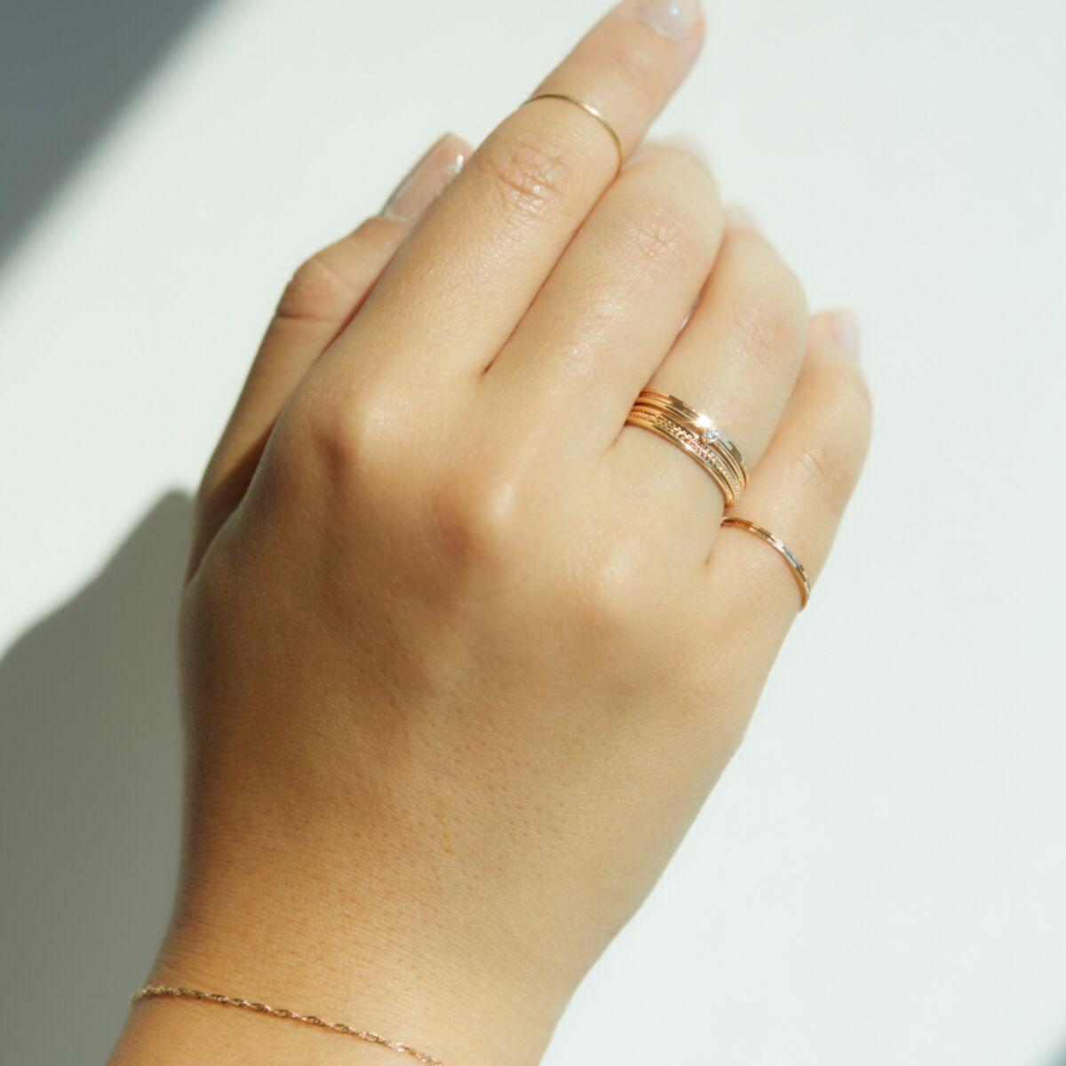Little Lift Diamond Stacking Ring image